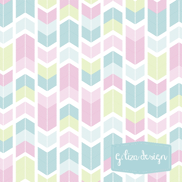 Day 57 - Spring Chevron